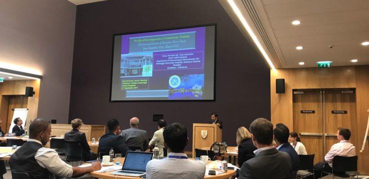 Dokter Indonesia Menjadi Narasumber Termuda Dalam Forum Ilmiah di Cambridge